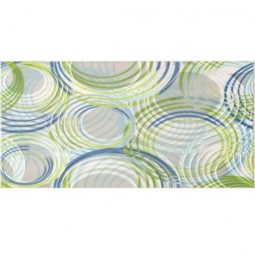 ΠΛΑΚΑΚΙ DECOR KEROS OLAS VERDE 25x50